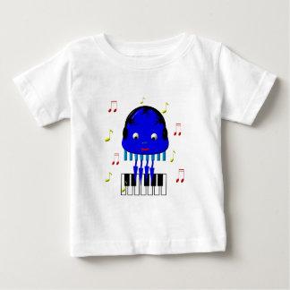 Cute Jellyfish Jamming Baby T-Shirt
