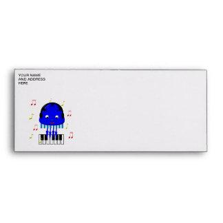 Cute Jellyfish Jamming Envelope