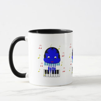 Cute Jellyfish Jamming Mug