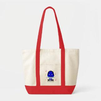 Cute Jellyfish Jamming Tote Bag