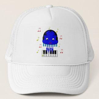 Cute Jellyfish Jamming Trucker Hat
