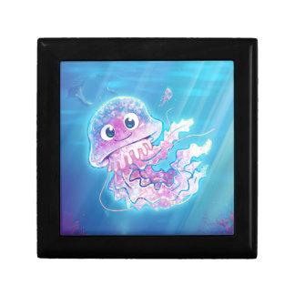 Cute Jellyfish Keepsake Box