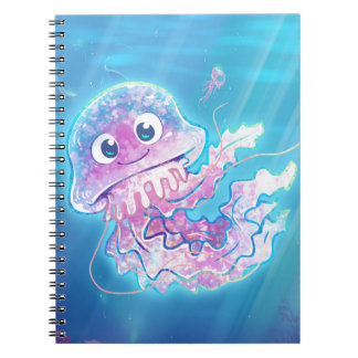 Cute Jellyfish Notebook