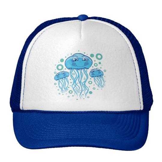 Cute Jellyfish Trucker Hat