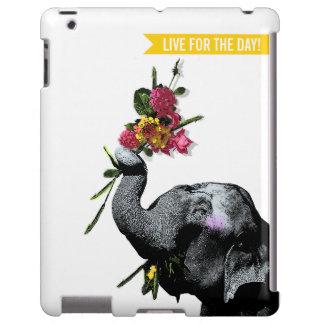 Cute Joyful Elephant - Live for the Day!