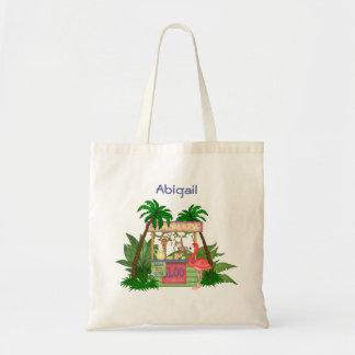 Cute Jungle Animals Lemonade Stand Tote Bag