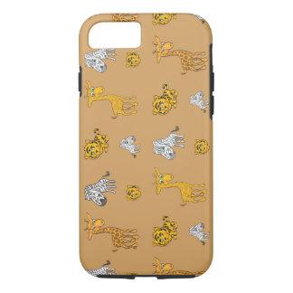 Cute Jungle Animals Pattern iPhone 8/7 Case