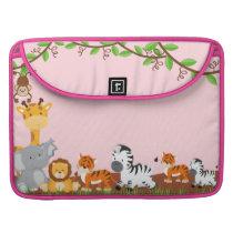 Cute Jungle Baby Animal Macbook Pro MacBook Pro Sleeve
