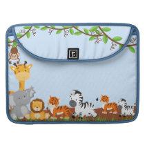 Cute Jungle Baby Animal Macbook Pro Sleeve For MacBooks