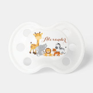 Cute Jungle Baby Animal Pacifier