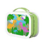 Cute Jungle Dinosaurs Lunchbox