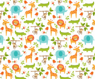 animal wrapping paper zazzle