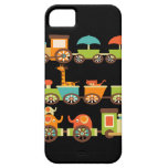 Cute Jungle Safari Animals Train Gifts Kids Baby iPhone 5 Covers