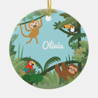 Cute Jungle Theme Nursery Decorative Ornament