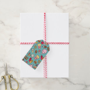 junk food gift tags gift enclosures zazzle