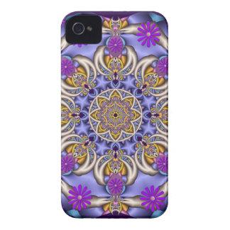 Cute kaleidoscope & flowers Blackberry bold case