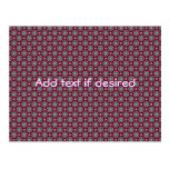 Cute kaleidoscopic tiny print post cards