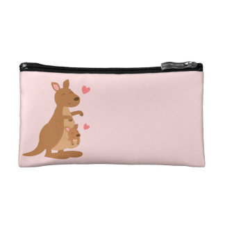 Cute Kangaroo Baby Joey For Kids Cosmetic Bag