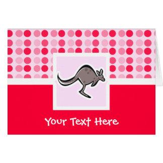 Cute Kangaroo Card