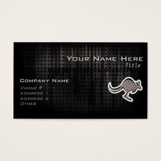 Cute Kangaroo; Cool Business Card