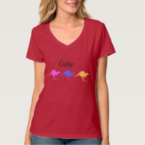 Cute Kangaroo Design T-Shirt