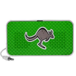 Cute Kangaroo Green Mini Speaker