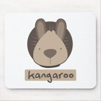 cute kangaroo mouse pad