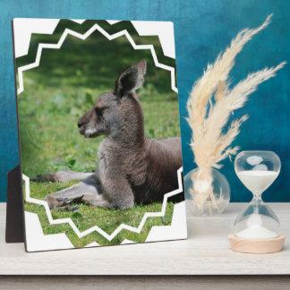 Cute Kangaroo Plaque
