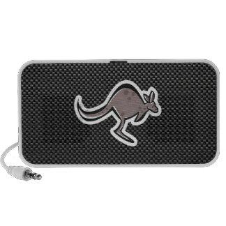 Cute Kangaroo Sleek iPhone Speakers