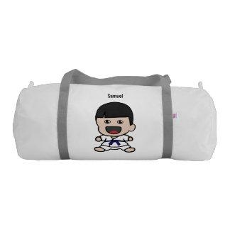 Cute Karate Boy Duffel Bag