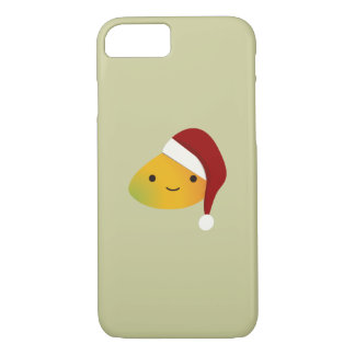 Cute Kawai Christmasi Mango iPhone 7 Case