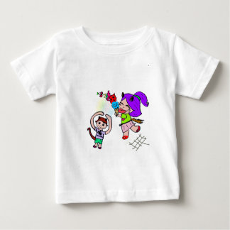 Cute Kawai Manga Ice cream Cat Girl Baby T-Shirt