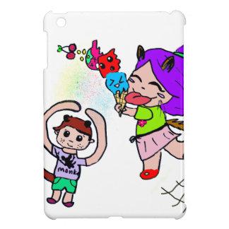 Cute Kawai Manga Ice cream Cat Girl iPad Mini Case
