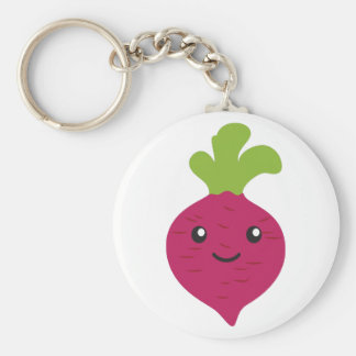 Cute Kawaii Beet Keychain