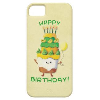 Cute Kawaii Birthday Cake iPhone SE/5/5s Case