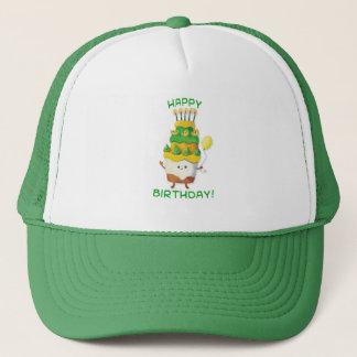 Cute Kawaii Birthday Cake Trucker Hat