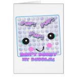 Cute Kawaii Bubble Wrap Greeting Cards