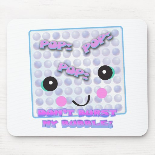 Cute Kawaii Bubble Wrap Mouse Mat