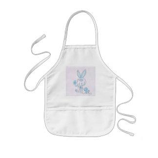 Cute kawaii bunny kid kids' apron