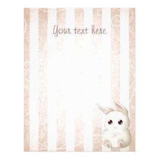 Cute Kawaii Bunny Rabbit Flyer for any occasion