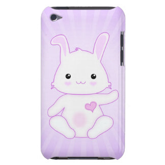 Cute Kawaii Bunny Rabbit in Purple and Lilac Case-Mate iPod Touch Case
