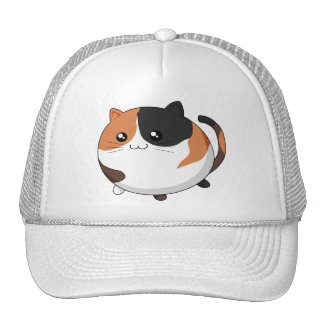 Cute Kawaii Calico kitty cat Trucker Hat
