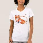 Cute Kawaii cartoon fox T-Shirt