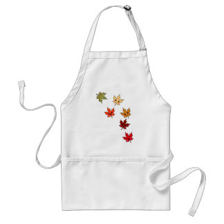 Cute Kawaii Cartoon Leaves Adult Apron
