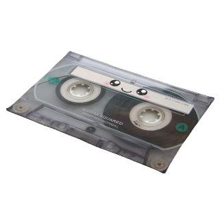 Cute Kawaii Cassette Tape Placemat