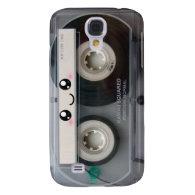 Cute Kawaii Cassette Tape Samsung Galaxy S4 Cover