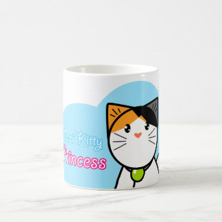 "Cute Kawaii Cat Mug ""Ozzi Kitty - Princess"""