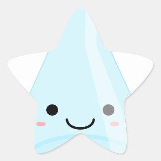 Cute Kawaii Chemistry Flask Star Sticker