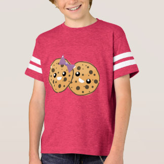 Cute Kawaii Chocolate Chip Cookie Couple T-Shirt