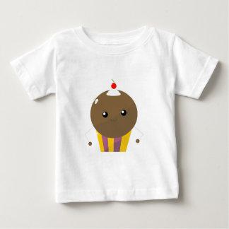 Cute Kawaii Chocolate Cupcake Guy Baby T-Shirt